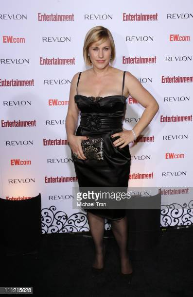 Actress Patricia Arquette arrives at the Entertainment Weekly's 5th Annual Pre-Emmy Party at Opera and Crimson on September 15, 2007 in Hollywood,...