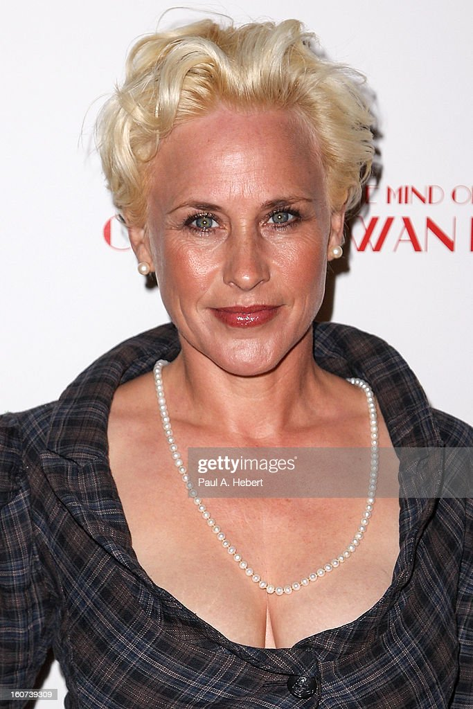 Actress Patricia Arquette arrives at the premiere of A24's 'A Glimpse Inside The Mind of Charles Swan III' held at the ArcLight Hollywood on February 4, 2013 in Hollywood, California.