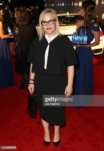Actress Patricia Arquette at the 9th Annual Women in Film PreOscar Cocktail Party in partnership with FIJI Water on February 26 2016 in West...