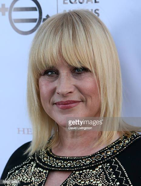 Actress Patricia Arquette attends a screening of Heroica Films' 'Equal Means Equal' at Laemmle's Music Hall 3 on August 26 2016 in Beverly Hills...