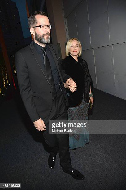 Actress Patricia Arquette attends MOCA's 35th Anniversary Gala presented by Louis Vuitton at The Geffen Contemporary at MOCA on March 29 2014 in Los...