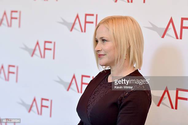 Actress Patricia Arquette attends the 15th Annual AFI Awards at Four Seasons Hotel Los Angeles at Beverly Hills on January 9, 2015 in Beverly Hills,...