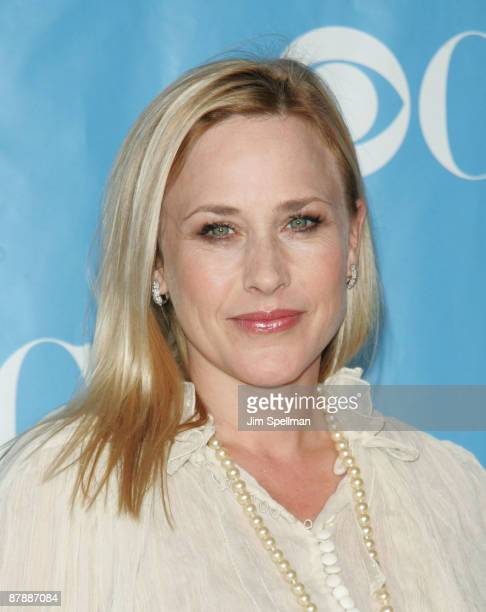 Actress Patricia Arquette attends the 2009 CBS Upfront at Terminal 5 on May 20 2009 in New York City