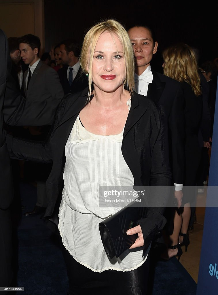 Actress Patricia Arquette attends the 26th Annual GLAAD Media Awards at The Beverly Hilton Hotel on March 21, 2015 in Beverly Hills, California.