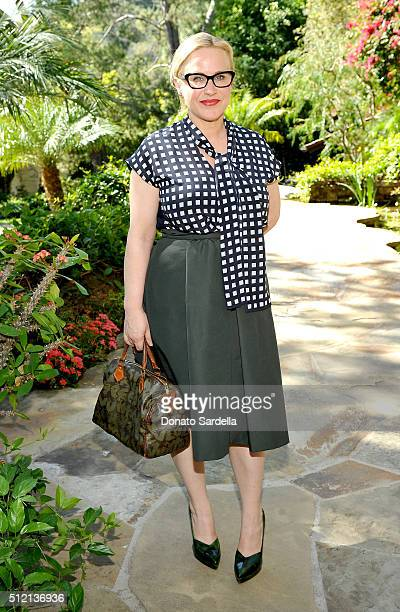 Actress Patricia Arquette attends the 3rd Annual DVF Oscar Luncheon honoring the female nominees of the 88th Academy Awards on February 24 2016 in...