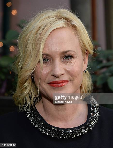 Actress Patricia Arquette attends the AMC Networks and IFC Films Spirit Awards After Party on February 21 2015 in Santa Monica California