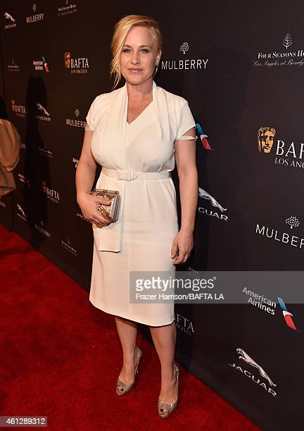 Actress Patricia Arquette attends the BAFTA Los Angeles Tea Party at The Four Seasons Hotel Los Angeles At Beverly Hills on January 10, 2015 in...
