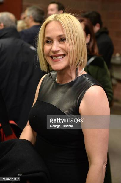 Actress Patricia Arquette attends the 'Boyhood' premiere at Eccles Center Theatre during the 2014 Sundance Film Festival on January 19 2014 in Park...