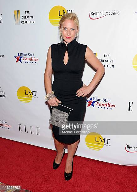 Actress Patricia Arquette attends the Creative Coalition's Salute to Blue Star Families at the RitzCarlton Hotel on April 28 2011 in Washington DC
