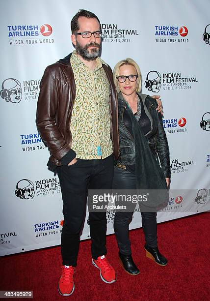 Actress Patricia Arquette attends the Indian Film Festival of Los Angeles opening night gala at ArcLight Cinemas on April 8 2014 in Hollywood...