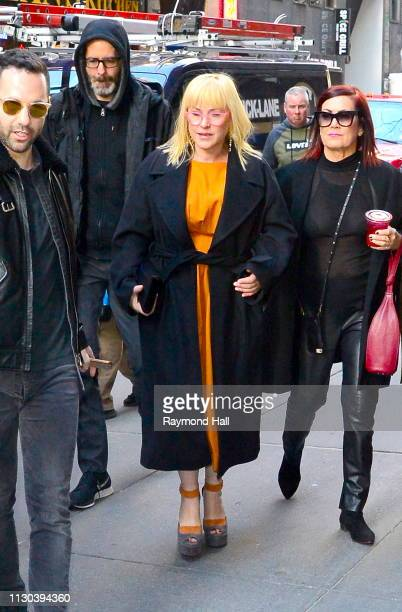 Actress Patricia Arquette is seen outside the today show on March 14 2019 in New York City