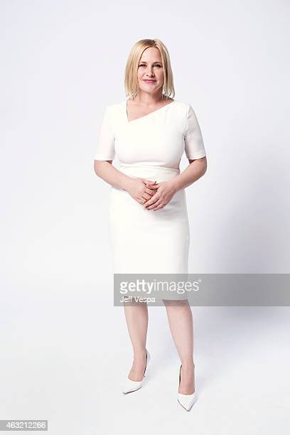 Actress Patricia Arquette poses for a portraits at the 87th Academy Awards Nominee Luncheon at the Beverly Hilton Hotel on February 2, 2015 in...