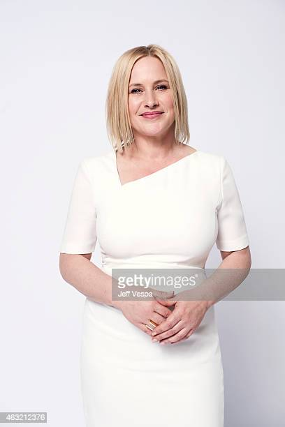 Actress Patricia Arquette poses for a portraits at the 87th Academy Awards Nominee Luncheon at the Beverly Hilton Hotel on February 2 2015 in Beverly...