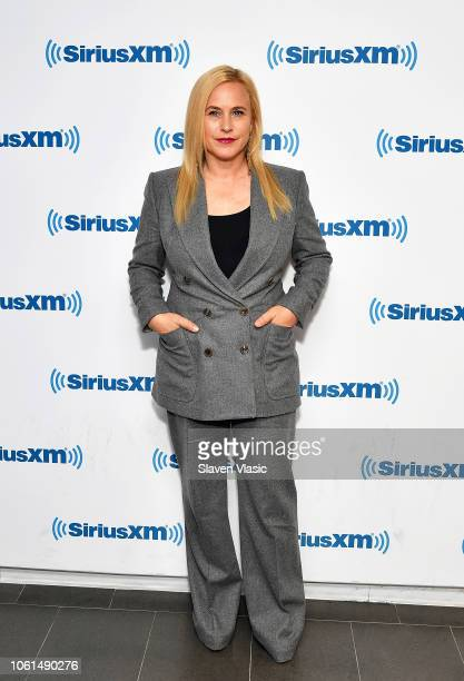 Actress Patricia Arquette visits SiriusXM Studios to promote Showtime miniseries Escape at Dannemora on November 14 2018 in New York City