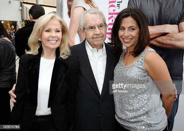 Actress Patricia Carr actor Tom Bosley and CBS Films' president and CEO Amy Baer arrive at the premiere of The Backup Plan held at Regency Village...