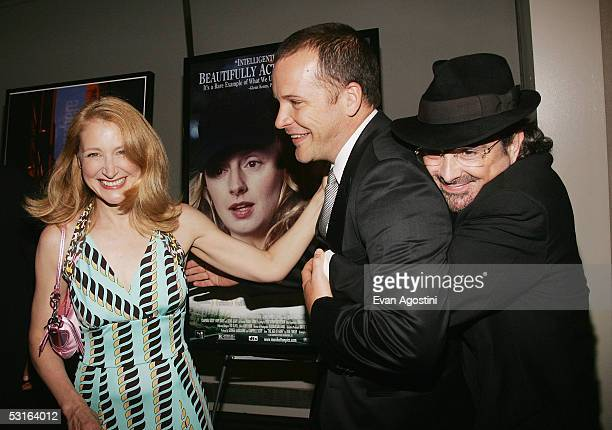 Actress Patricia Clarkson actor Peter Sarsgaard and director Craig Lucas attend the 5th Annual 'Young Friends Of Film Honors' tribute to Campbell...