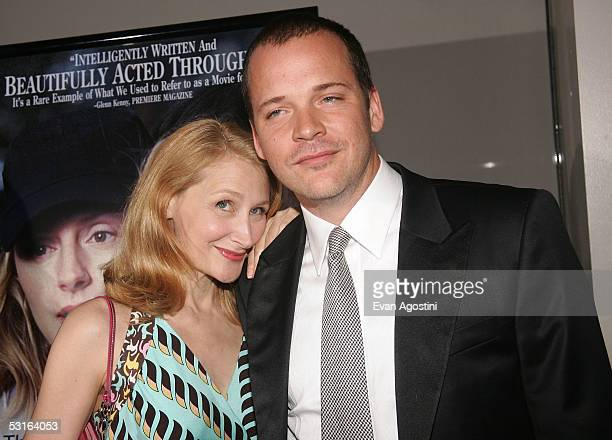 Actress Patricia Clarkson and actor Peter Sarsgaard attend the 5th Annual 'Young Friends Of Film Honors' tribute to Campbell Scott with a premiere...