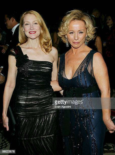 Actress Patricia Clarkson and designer Alberta Ferretti attend Fashion Group International's 22nd Annual 'Night Of Stars' at Cipriani's 42nd Street...