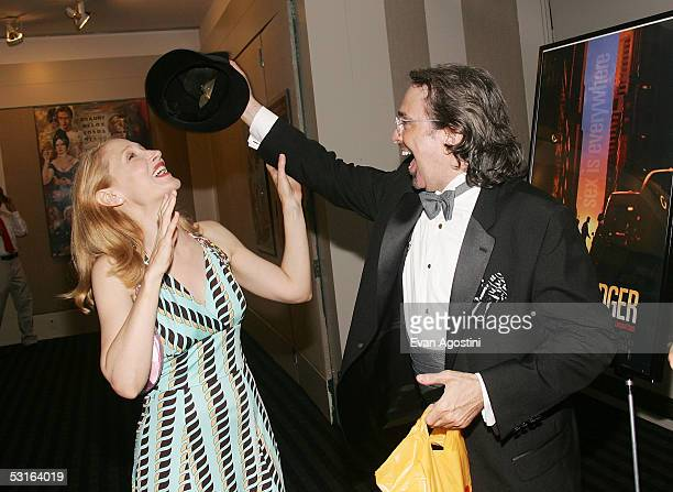 Actress Patricia Clarkson and Director Craig Lucas attend the 5th Annual 'Young Friends Of Film Honors' tribute to Campbell Scott with a premiere...