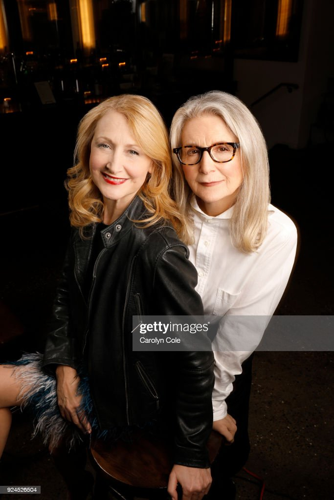 Patricia Clarkson and Sally Potter, Los Angeles Times, February 17, 2018