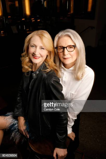 Actress Patricia Clarkson and director Sally Potter are photographed for Los Angeles Times on February 12 2018 in New York City PUBLISHED IMAGE...