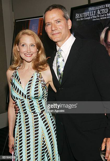 Actress Patricia Clarkson and husband Campbell Scott attend the 5th Annual 'Young Friends Of Film Honors' tribute to Campbell Scott with a premiere...