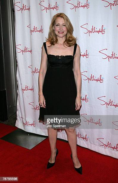 Actress Patricia Clarkson arrives at the 2007 New York Film Critic's Circle Awards at Spotlight on January 6, 2008 in New York City.