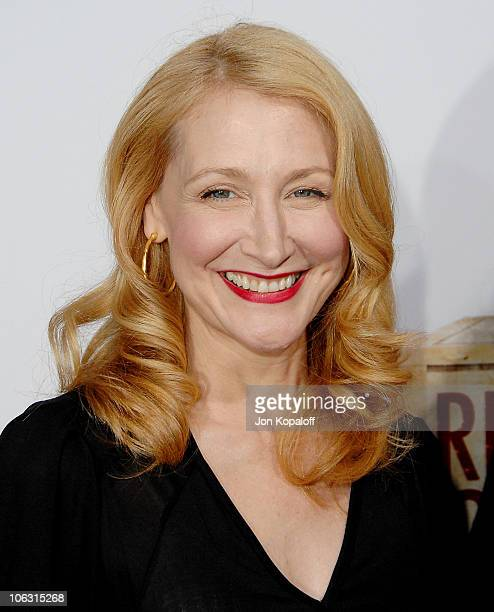 Actress Patricia Clarkson arrives at the Los Angeles Premiere 'Lars and The Real Girl' at the Academy of Motion Picture Arts Sciences on October 2...