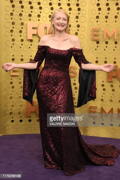 TOPSHOT US actress Patricia Clarkson arrives for the 71st Emmy Awards at the Microsoft Theatre in Los Angeles on September 22 2019