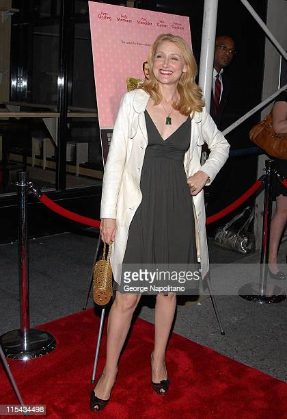 Actress Patricia Clarkson at the NY Premiere Of 'Lars And The Real Girl' at the Paris Theatre in New York October 3 2007