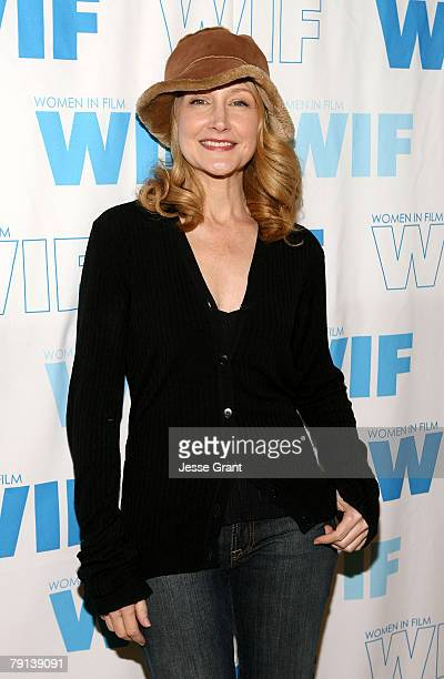 Actress Patricia Clarkson at the Women in Film panel at 350 Main Street on January 20 2008 in Park City Utah