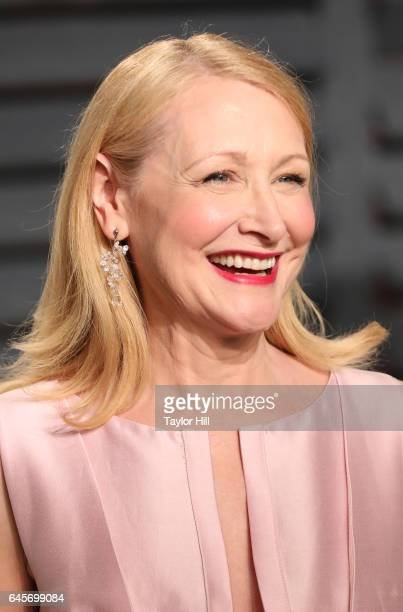 Actress Patricia Clarkson attends 2017 Vanity Fair Oscar Party Hosted By Graydon Carter at Wallis Annenberg Center for the Performing Arts on...