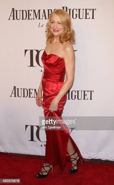 Actress Patricia Clarkson attends American Theatre Wing's 68th Annual Tony Awards at Radio City Music Hall on June 8 2014 in New York City