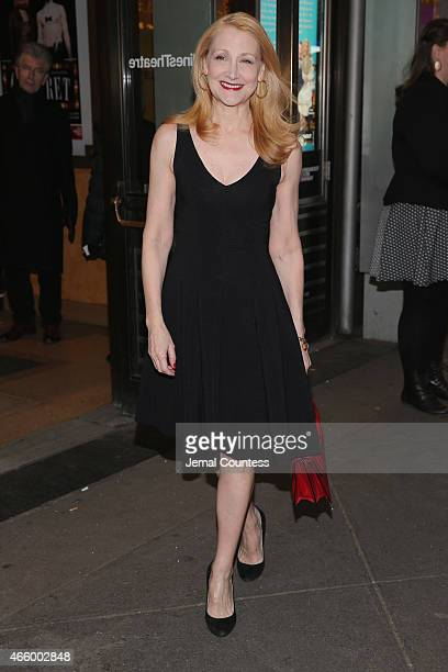 Actress Patricia Clarkson attends On The Twentieth Century opening night at Roundabout Theatre Company on March 12 2015 in New York City