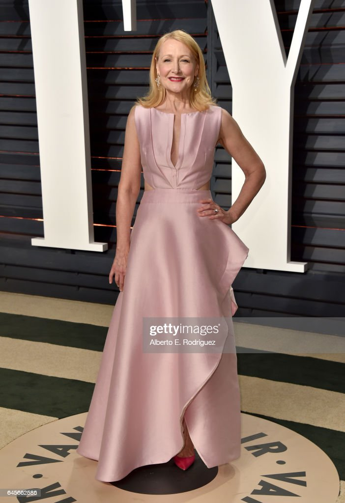 Actress Patricia Clarkson attends the 2017 Vanity Fair Oscar Party hosted by Graydon Carter at Wallis Annenberg Center for the Performing Arts on February 26, 2017 in Beverly Hills, California.
