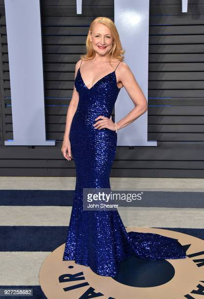 Actress Patricia Clarkson attends the 2018 Vanity Fair Oscar Party hosted by Radhika Jones at Wallis Annenberg Center for the Performing Arts on...