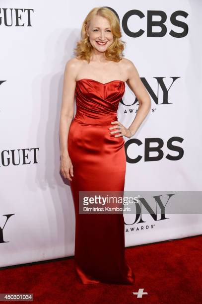 Actress Patricia Clarkson attends the 68th Annual Tony Awards at Radio City Music Hall on June 8 2014 in New York City