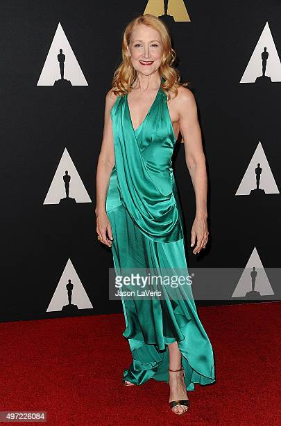 Actress Patricia Clarkson attends the 7th annual Governors Awards at The Ray Dolby Ballroom at Hollywood Highland Center on November 14 2015 in...