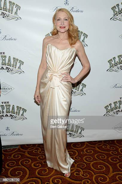 Actress Patricia Clarkson attends The Elephant Man Broadway Opening Night After Party at Gotham Hall on December 7 2014 in New York City