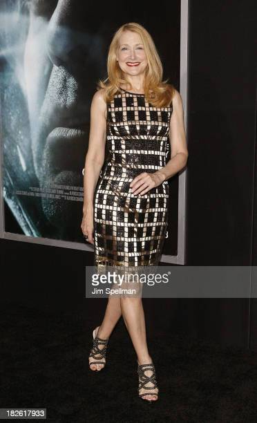 Actress Patricia Clarkson attends the 'Gravity' premiere at AMC Lincoln Square Theater on October 1 2013 in New York City