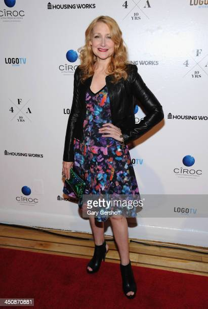 Actress Patricia Clarkson attends the Housing Works 10th Annual Fashion For Auction Benefit on November 20 2013 in New York City