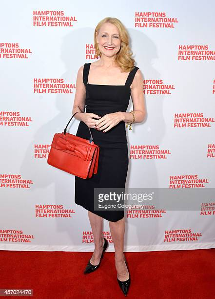 Actress Patricia Clarkson attends the Learning to Drive premiere during the 2014 Hamptons International Film Festival on October 10 2014 in East...