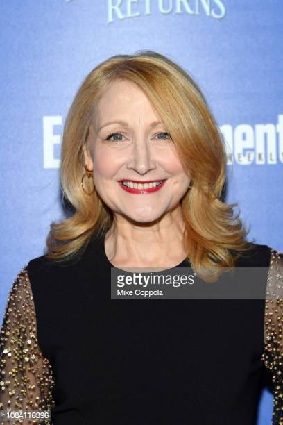 YORK DECEMBER Actress Patricia Clarkson attends the Mary Poppins Returns hosted by The Cinema Society at SVA Theater on December 17 2018 in New York...