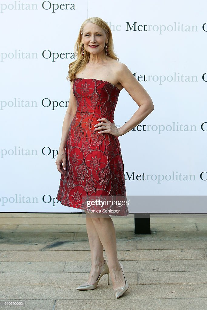 Actress Patricia Clarkson attends the Met Opera 2016-2017 Season Opening Performance Of 'Tristan Und Isolde' at The Metropolitan Opera House on September 26, 2016 in New York City.
