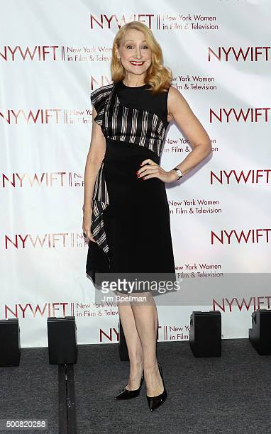 Actress Patricia Clarkson attends the New York Women In Film And Television's 35th Annual Muse Awards at New York Hilton on December 10 2015 in New...