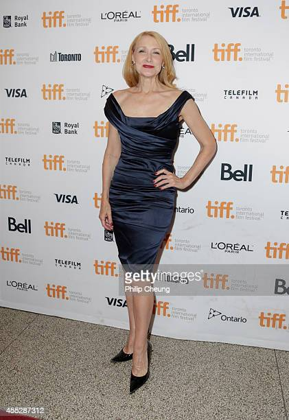 Actress Patricia Clarkson attends the 'October Gale' premiere during the 2014 Toronto International Film Festival at Winter Garden Theatre on...