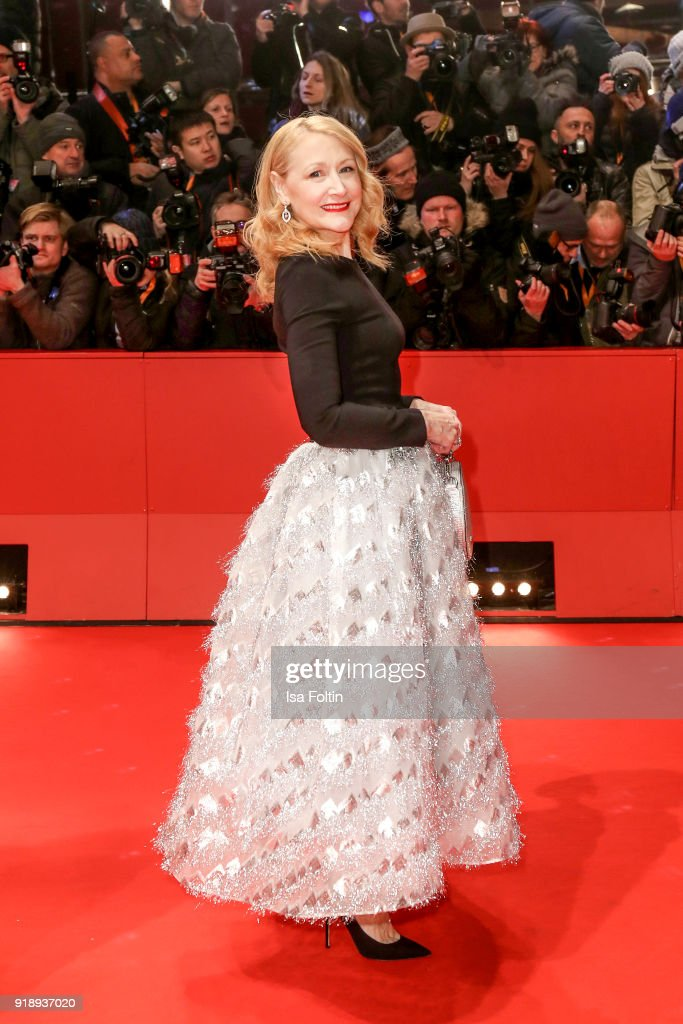 US actress Patricia Clarkson attends the Opening Ceremony & 'Isle of Dogs' premiere during the 68th Berlinale International Film Festival Berlin at Berlinale Palace on February 15, 2018 in Berlin, Germany.