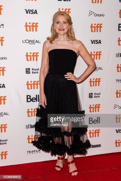 Actress Patricia Clarkson attends the 'Out Of Blue' premiere during 2018 Toronto International Film Festival at Winter Garden Theatre on September 7...