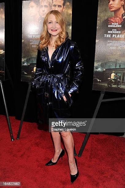 Actress Patricia Clarkson attends The Place Beyond The Pines New York Premiere at Landmark Sunshine Cinema on March 28 2013 in New York City
