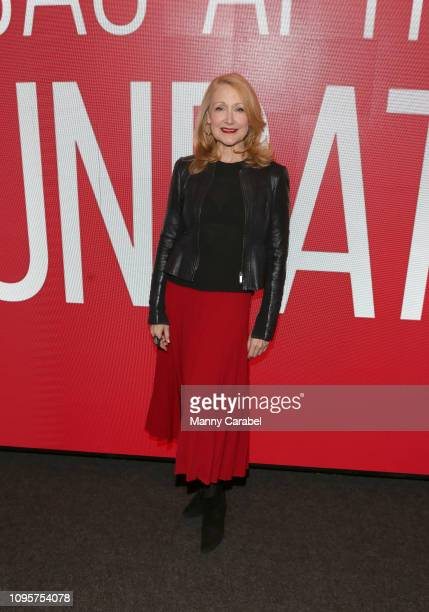 Actress Patricia Clarkson attends the SAGAFTRA Foundation Conversation 'Sharp Objects' at The Robin Williams Center on January 17 2019 in New York...